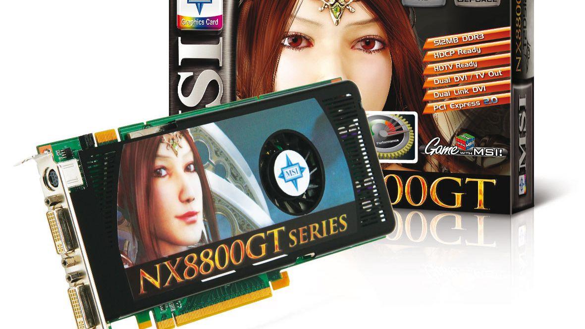 Overklokker GeForce 8800 GT