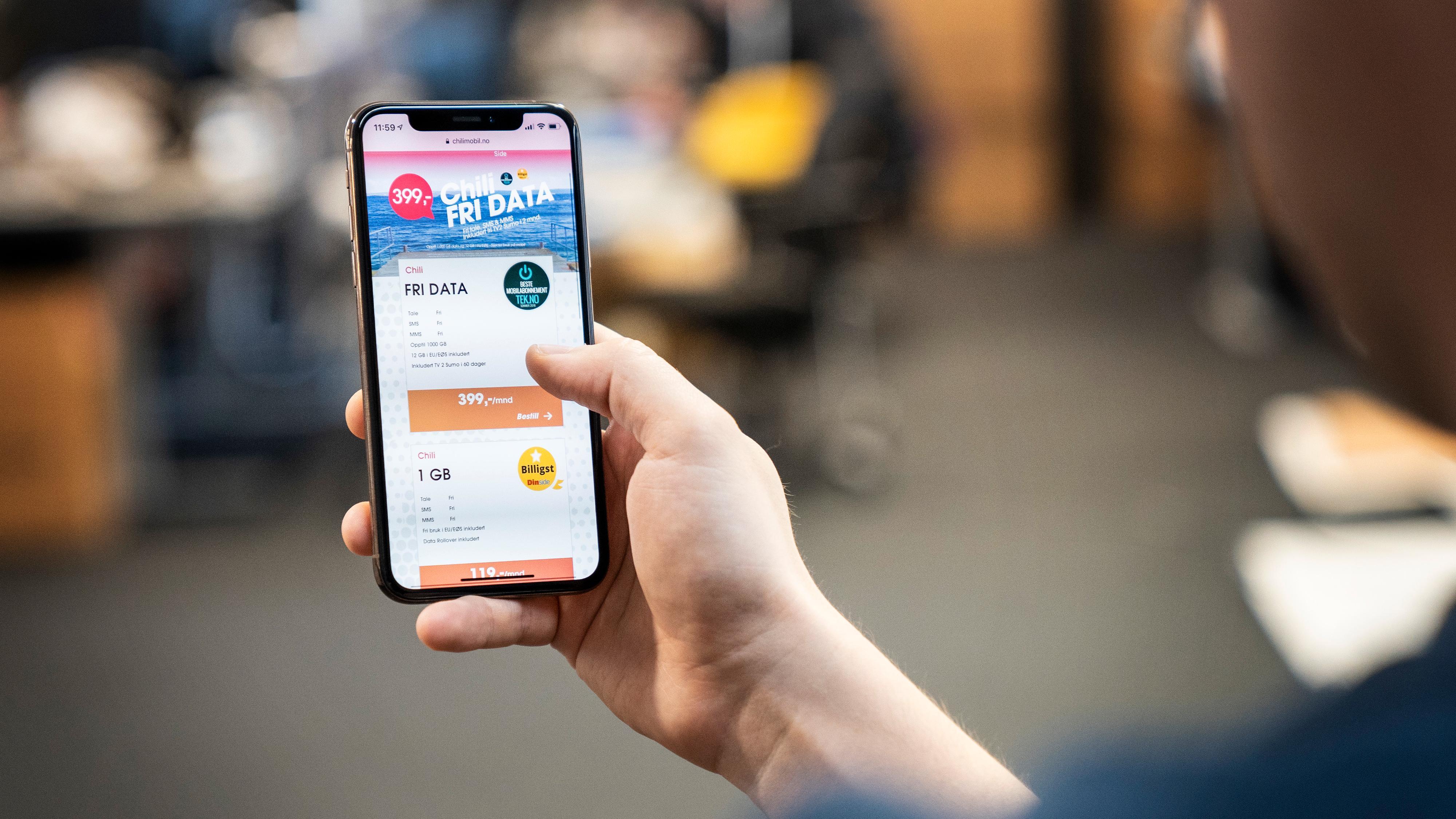 Chilimobil ønsker å stoppe «Fri Data»-kunder fra å dele mobildata videre