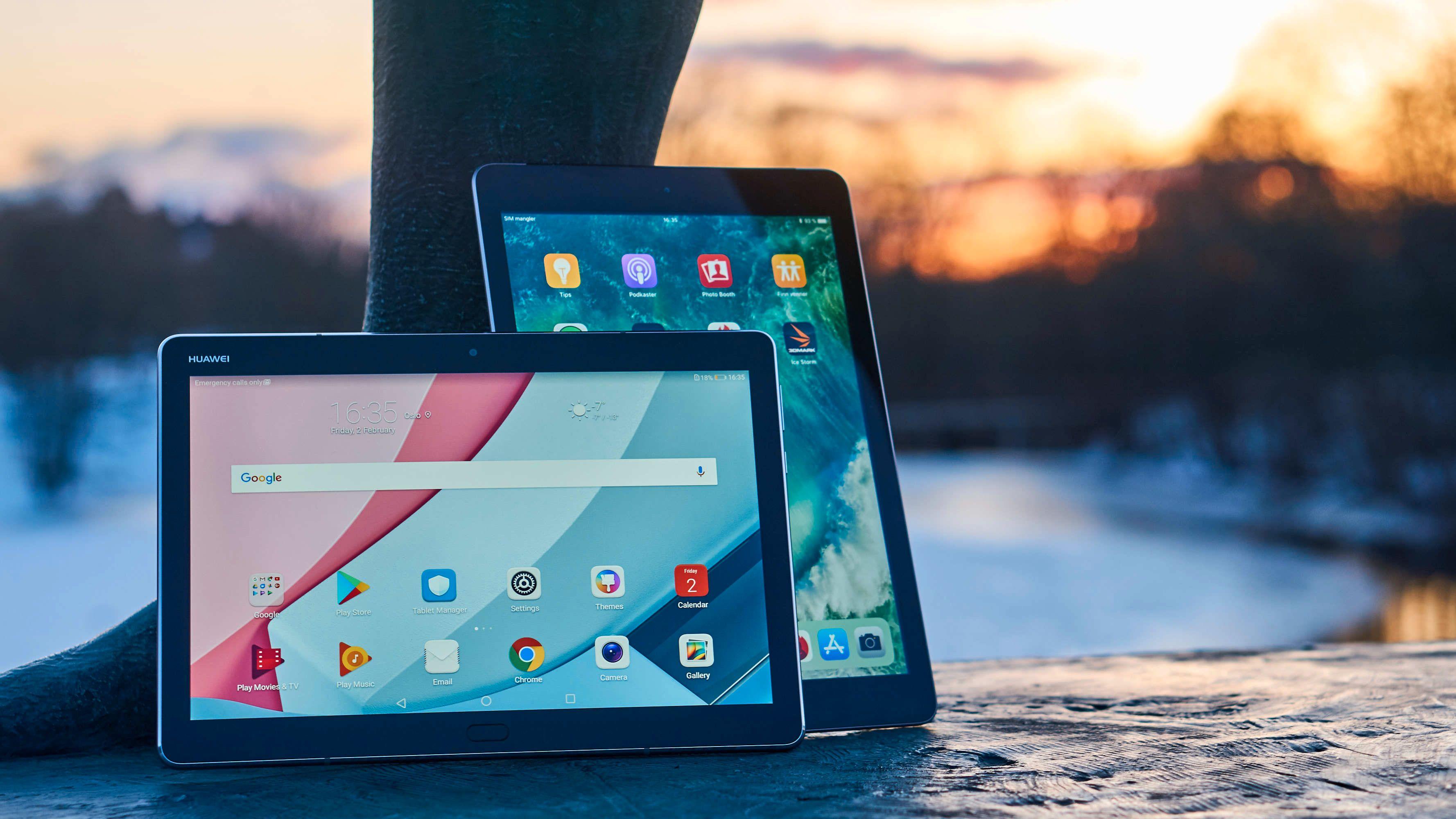 Huawei MediaPad M3 Lite vs iPad 9,7