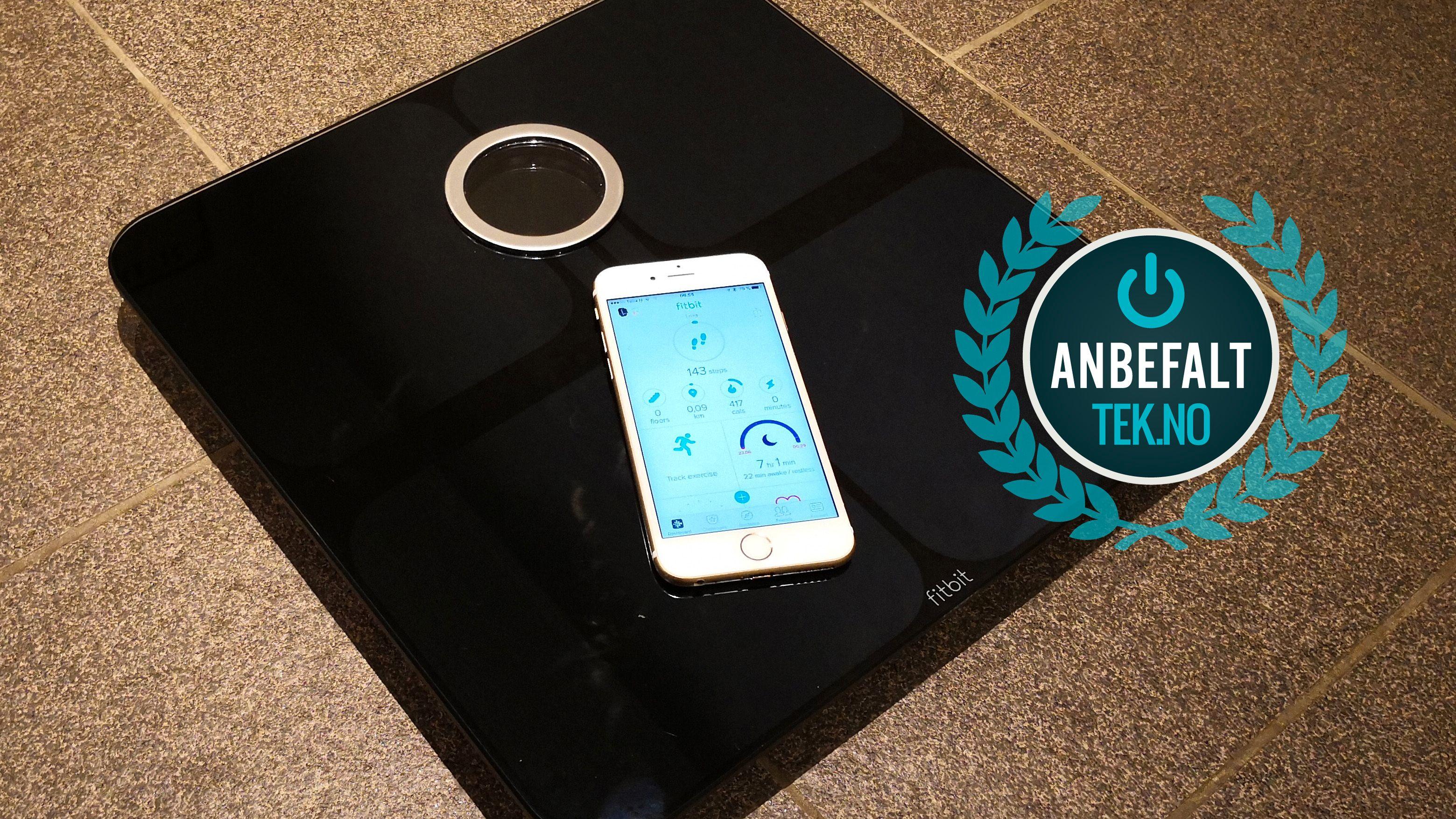 Fitbit Aria 2 fungerer godt, og er et produkt vi trygt kan gi et Anbefalt-stempel.