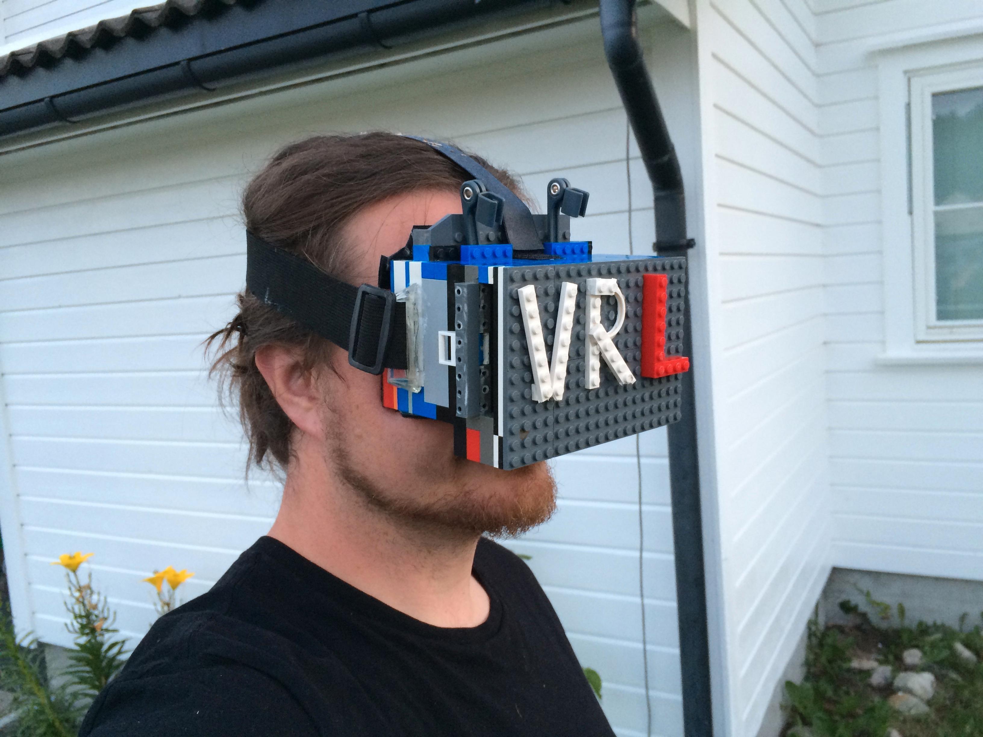 VR-brillene fungerer meget bra.