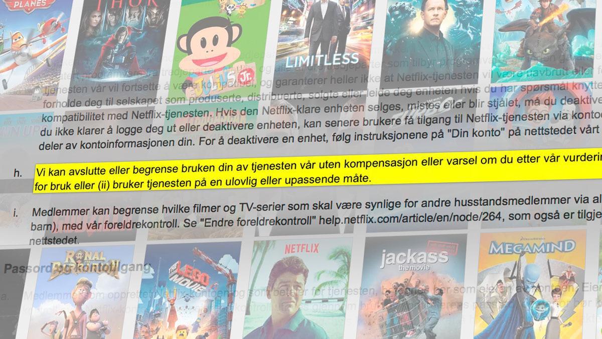 Nye Netflix-regler kan være dårlig nytt for nordmenn