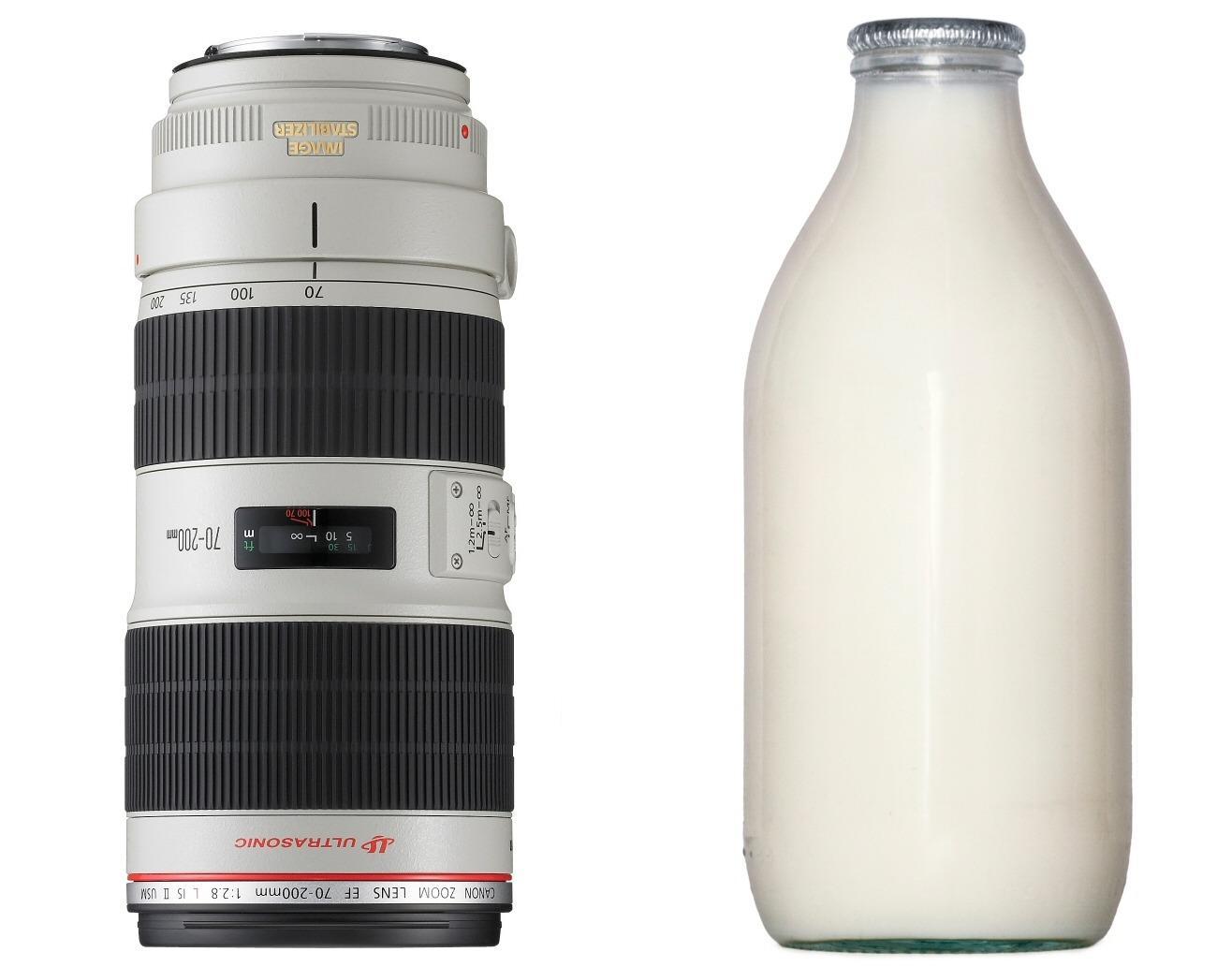 Milk Bottle Mark II: Canon EF 70-200mm f/2.8L IS II USM. Foto: Canon / Shutterstock