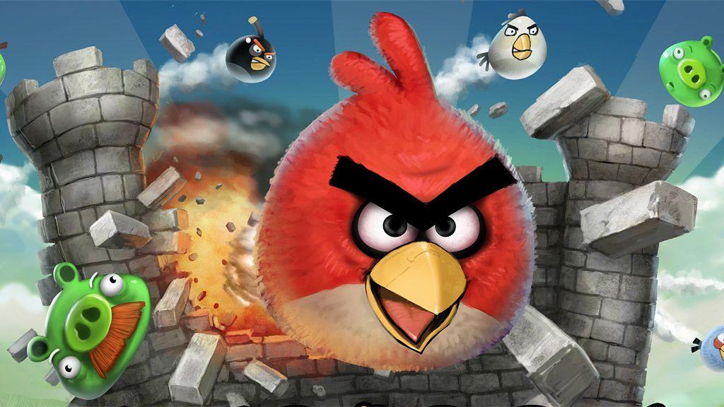 Nå kommer Angry Birds overalt