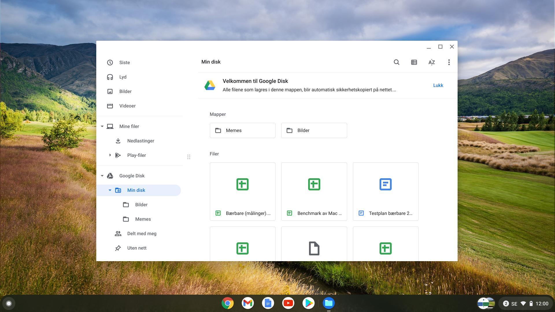 Filbehandleren i ChromeOS er enklere på funksjoner enn utforskeren til Windows. Men det viktigste er på plass.