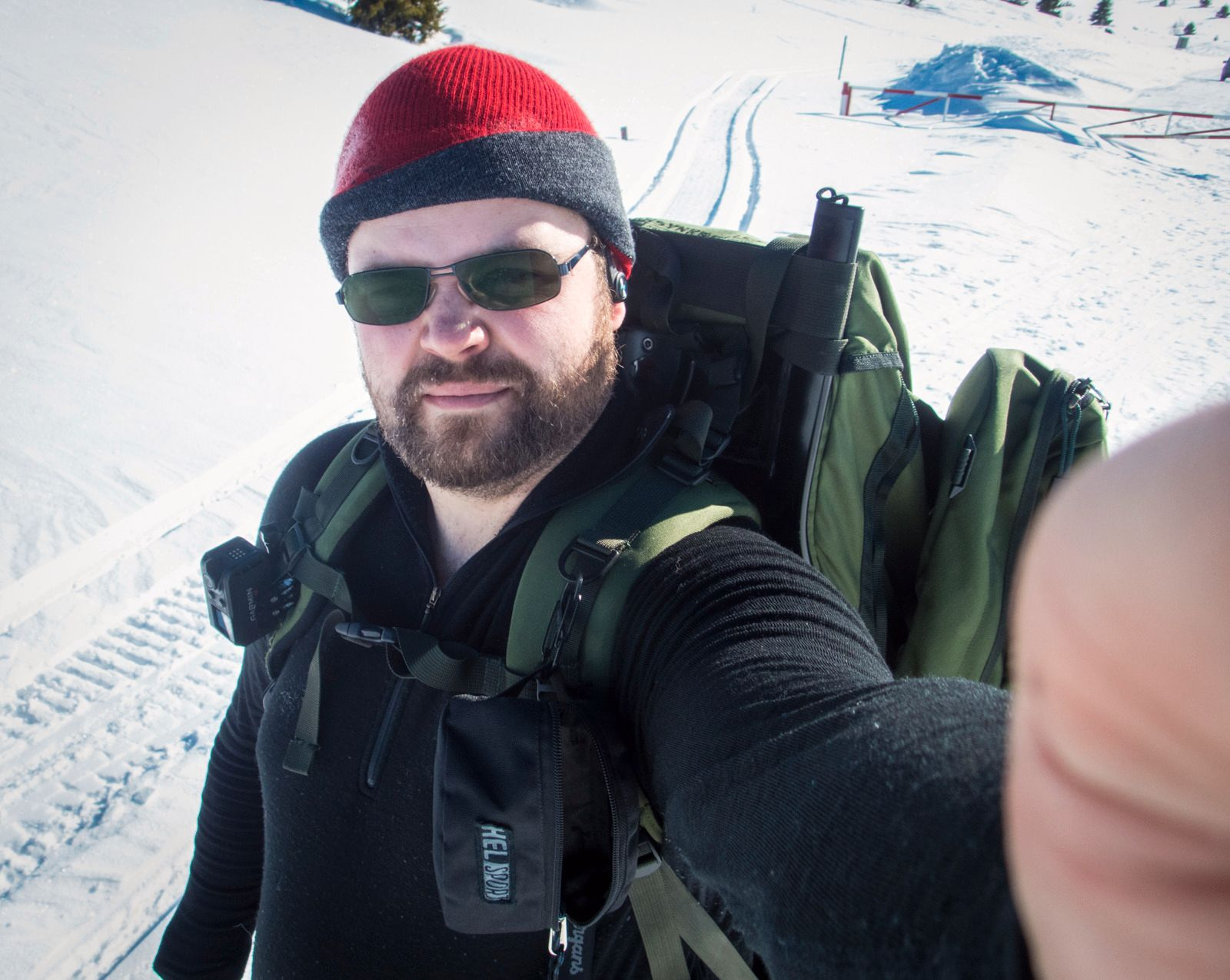 «Ny dag, nytt forsøk»-selfie.