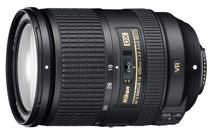 AF-S DX Nikkor 18-300mm f/3.5-5.6G ED VR.Foto: Nikon