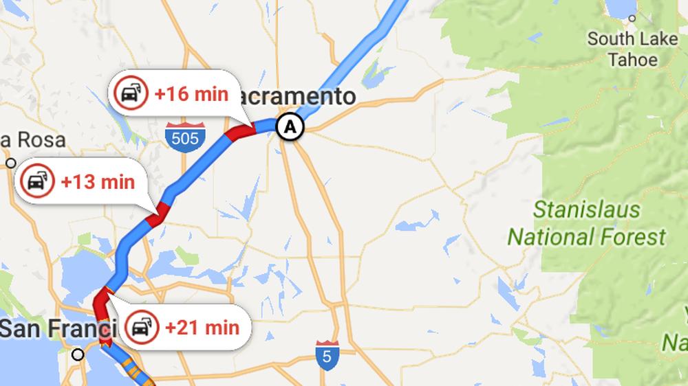 Denne Google Maps-funksjonen er nyttig for alle som drar på langtur