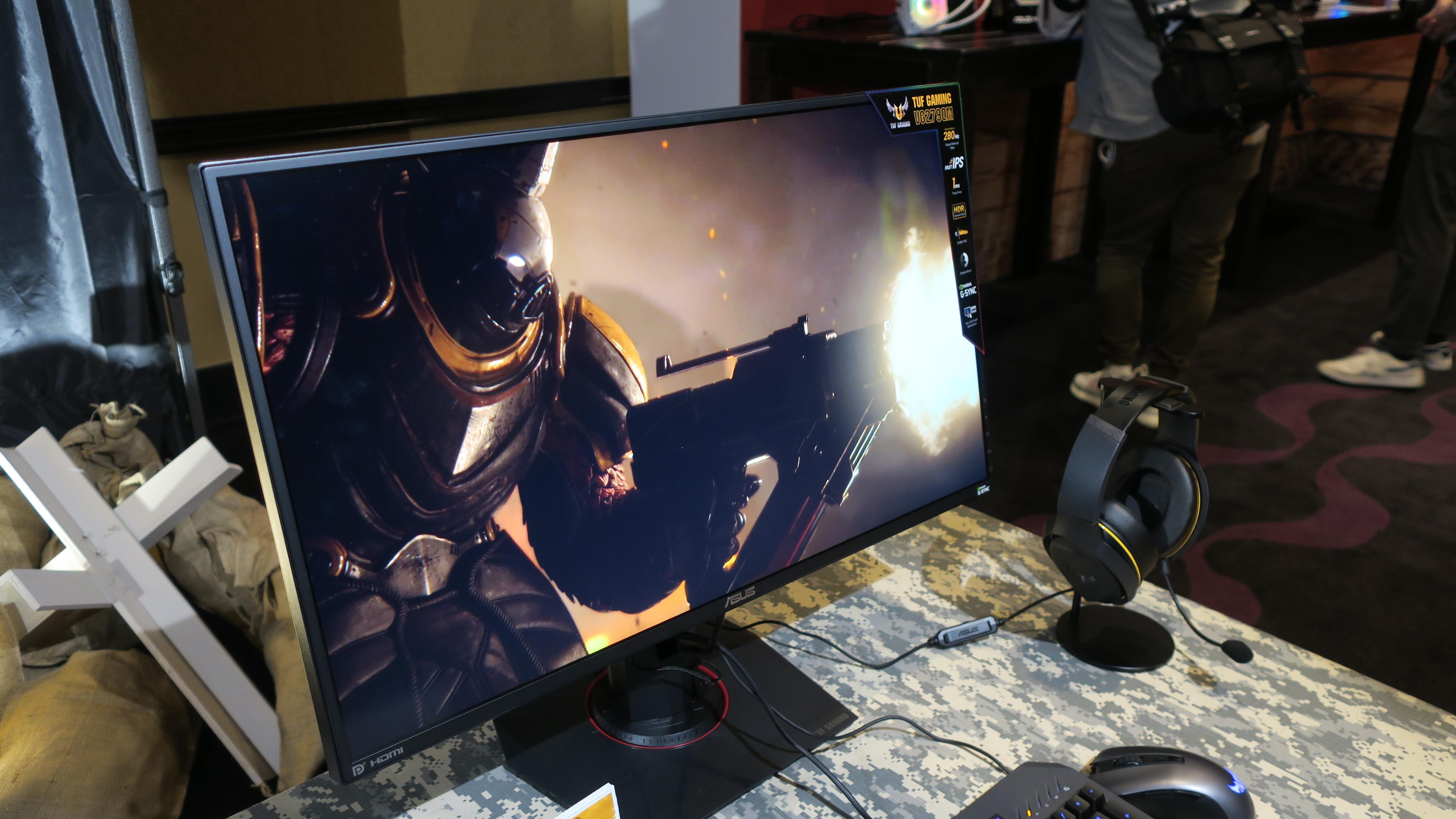Asus med verdens raskeste spillskjerm