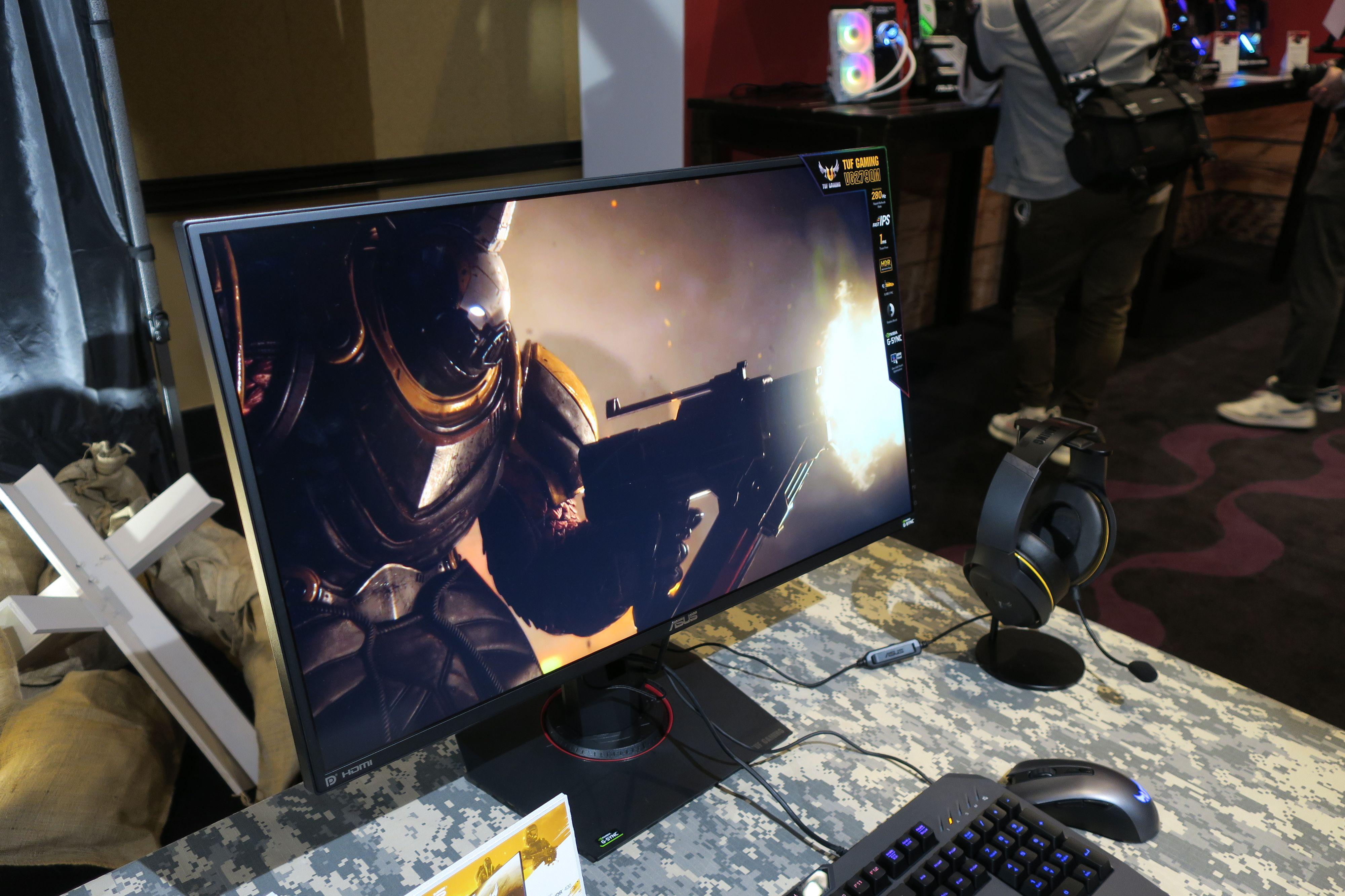 Asus lanserte flere lynraske spillskjermer