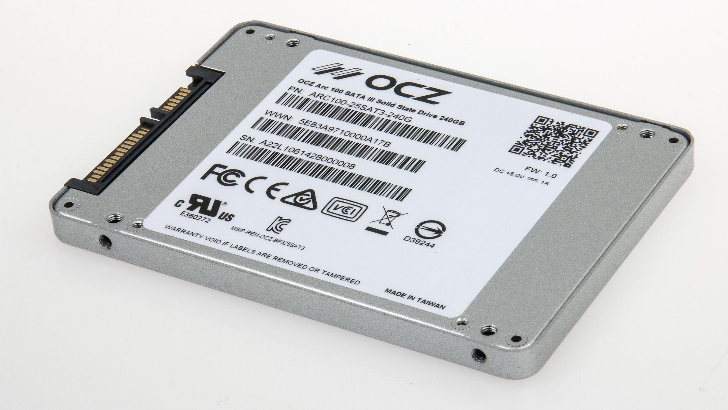 OCZ Arc 100 240 GB SSD.Foto: Varg Aamo, Hardware.no