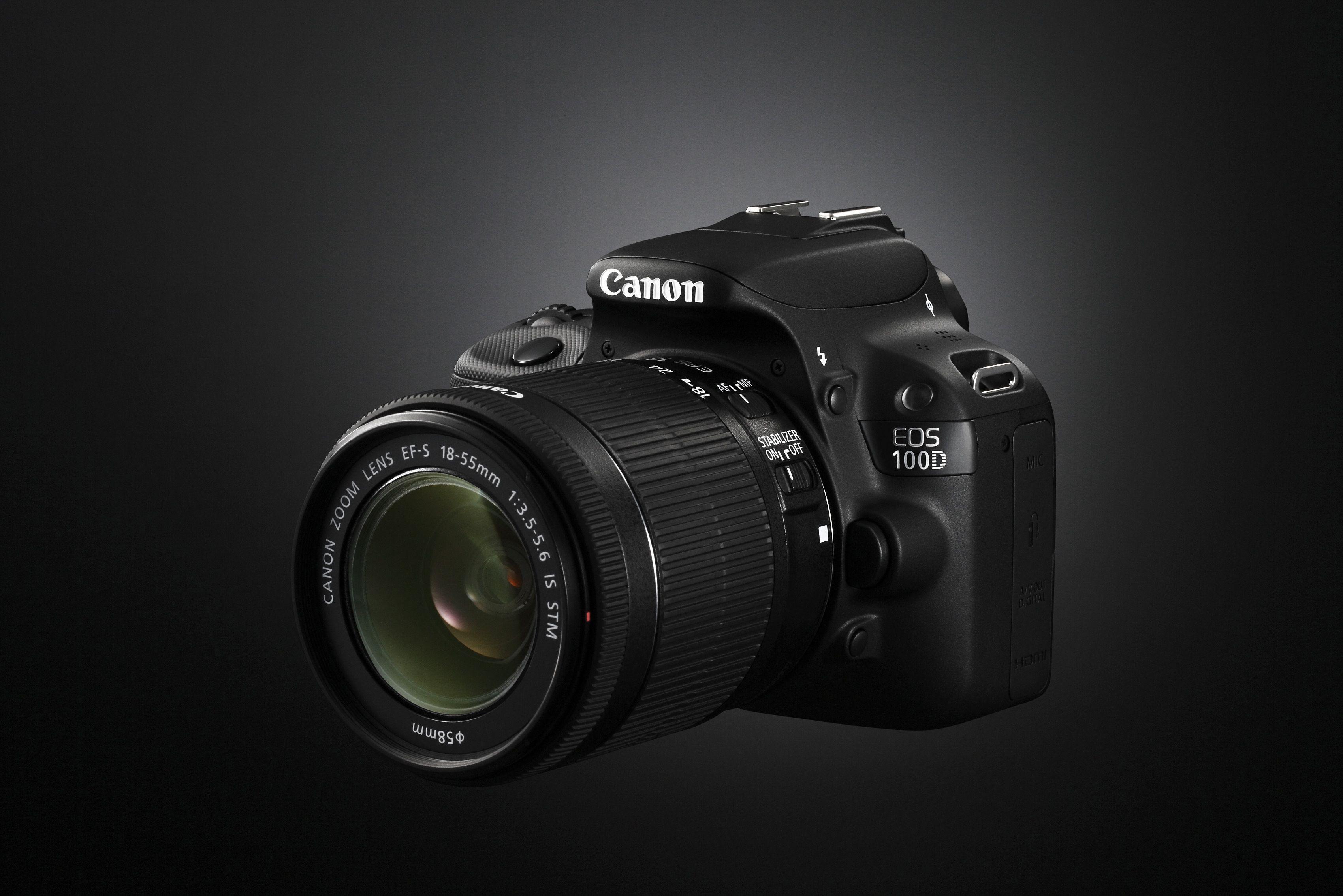 Canon EOS 100D.Foto: Paal Mork-Knutsen, Akam.no