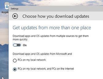 Disse nye valgene kan vi se i en ny og foreløpig lukket versjon av Windows 10.