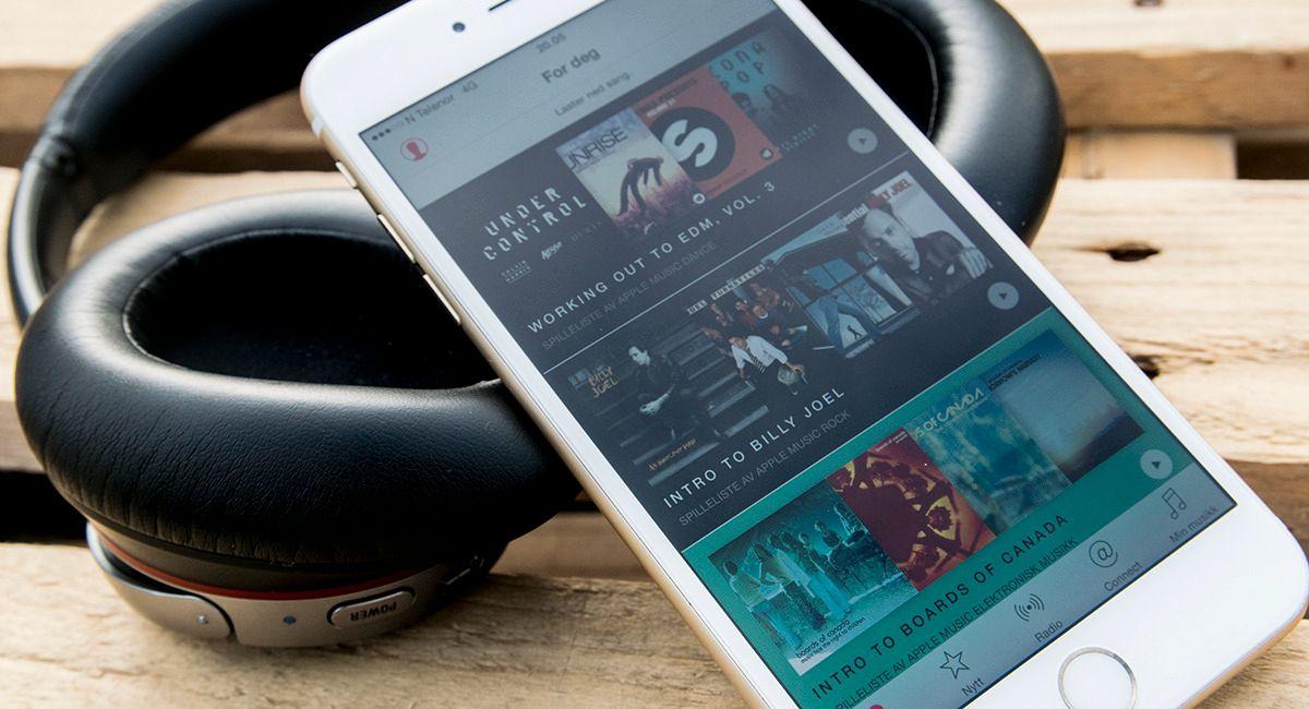 Apple Music er ennå ingen stor trussel for Spotify.