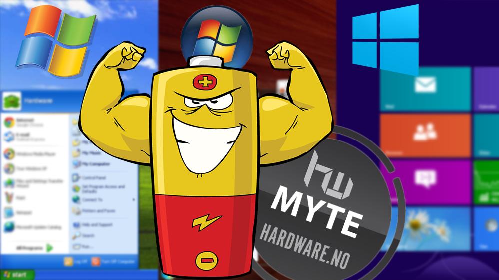 Denne Windows-versjonen gir deg desidert best batteritid