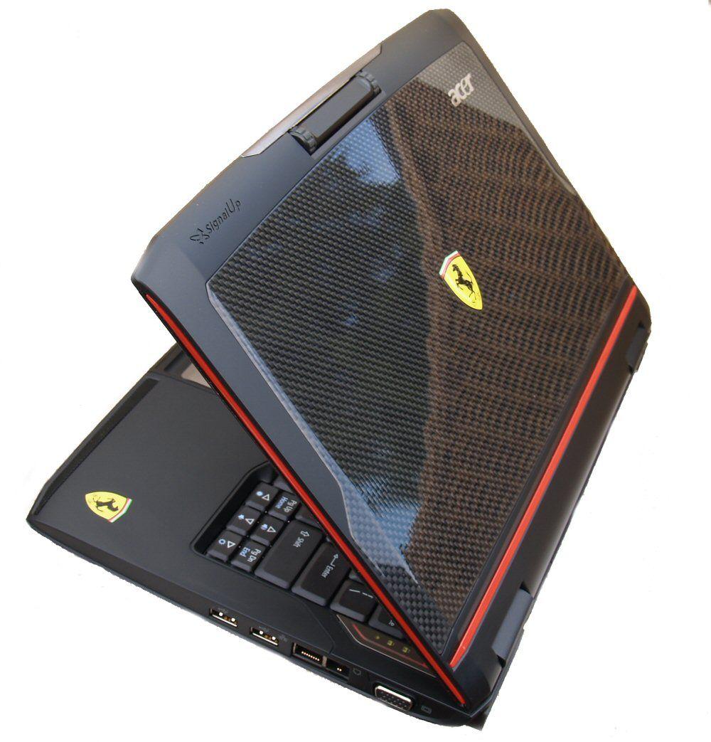 Acer Ferrari 1000, forgjengeren til annonserte Ferrari 1100.