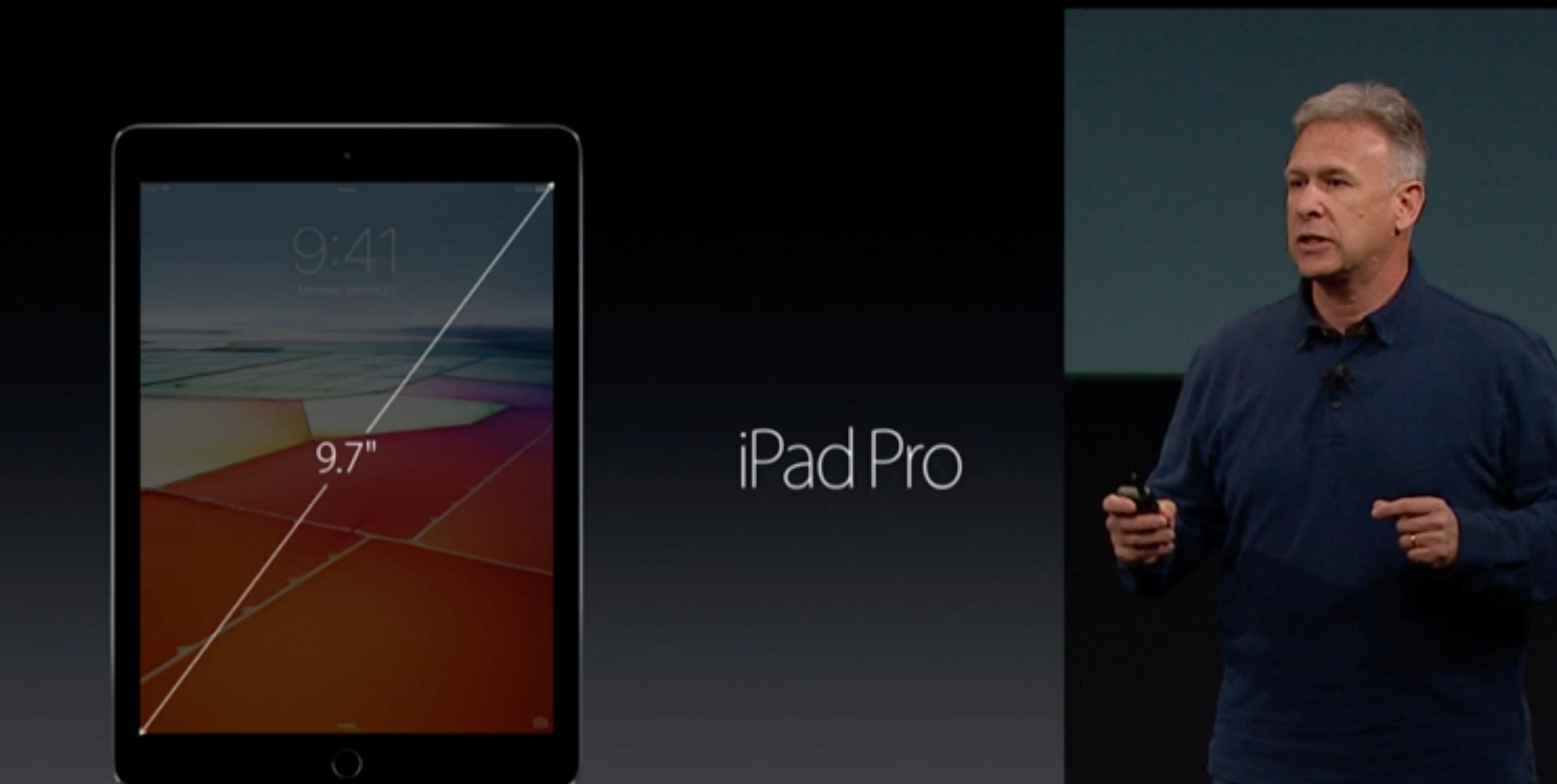 iPad Pro i ny og mindre utgave.