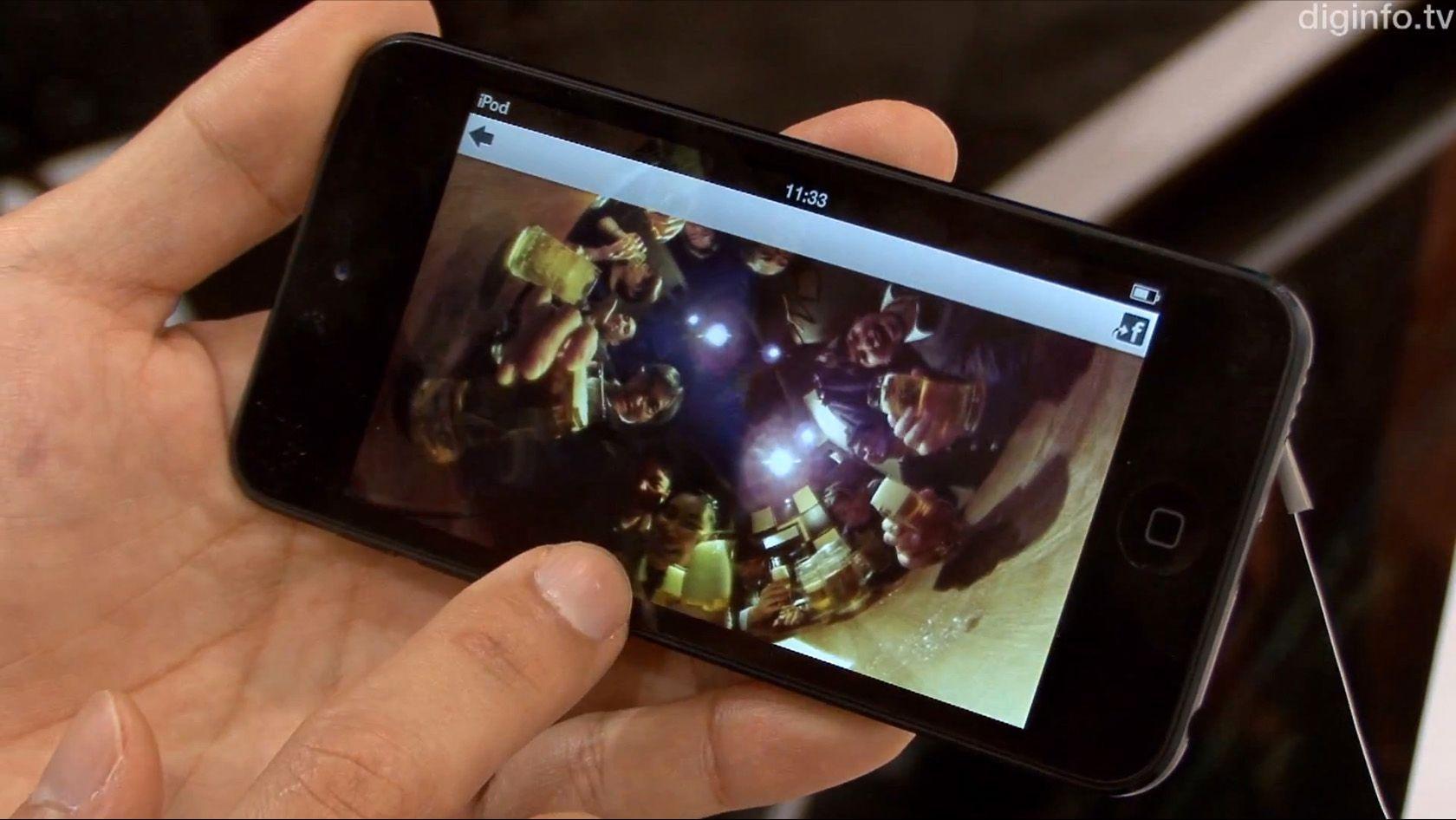 Nå behøver ingen på festen å bli utelatt fra bilder.Foto: DigInfo TV