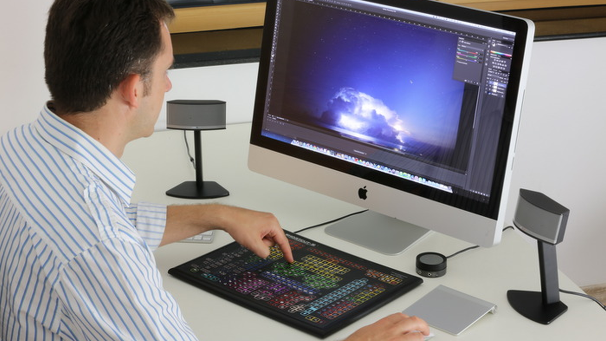 Dette tastaturet skal gjøre bilderedigeringen til en lek