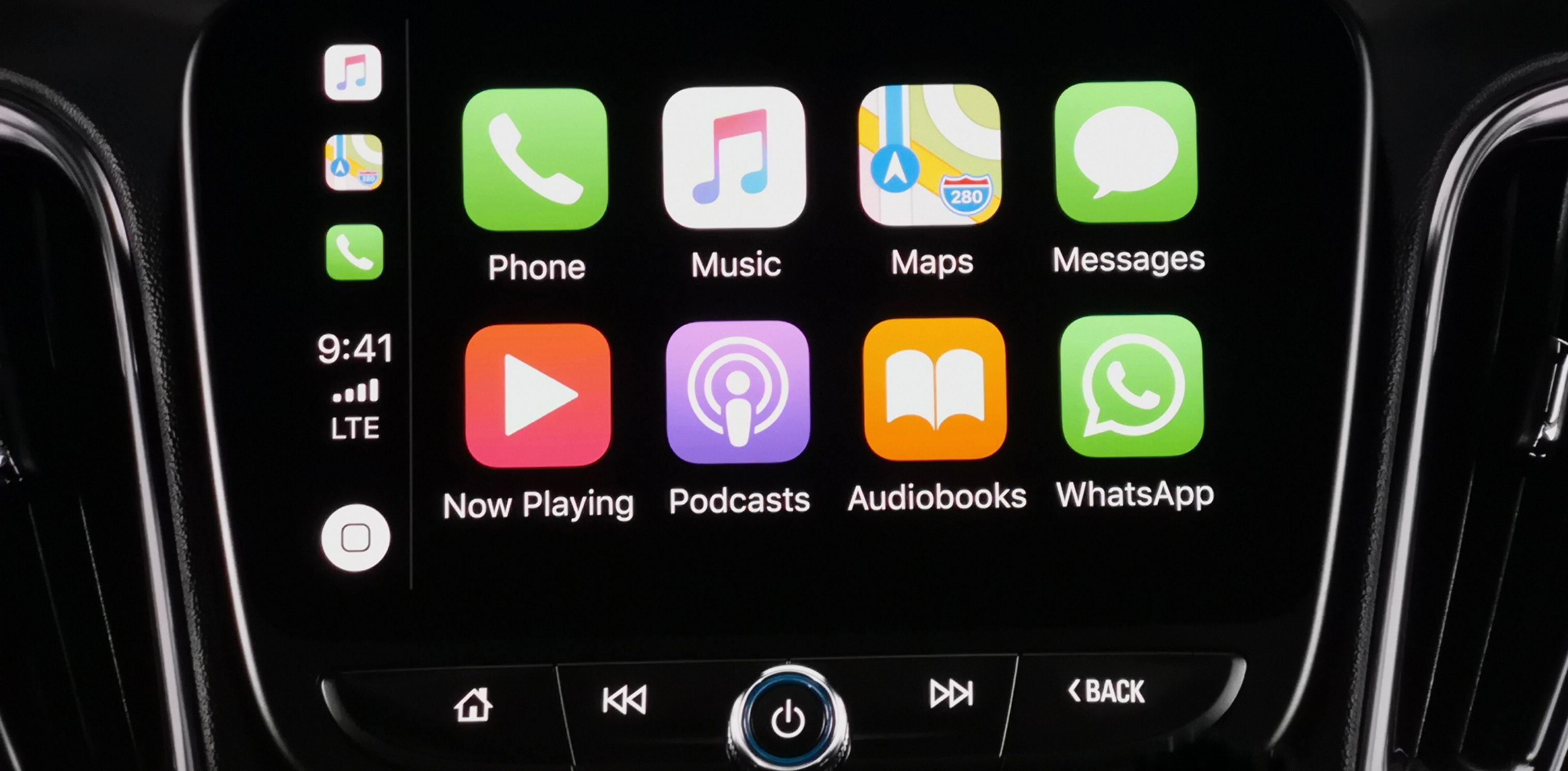 Spesielt ringe- og strømmetjenester har vært tilgjengelig i CarPlay en god stund, med støtte for eksempelvis Spotify og Whatsapp.
