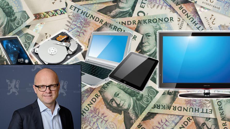 Ny avgift gjør elektronikk i Sverige dyrere