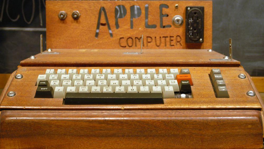 Den første Apple-maskinen kan bli din