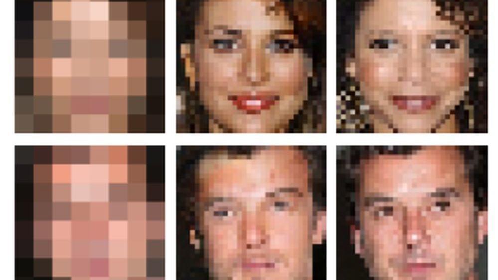 Google har gjort det mulig å «zoome» inn på lavoppløste bilder