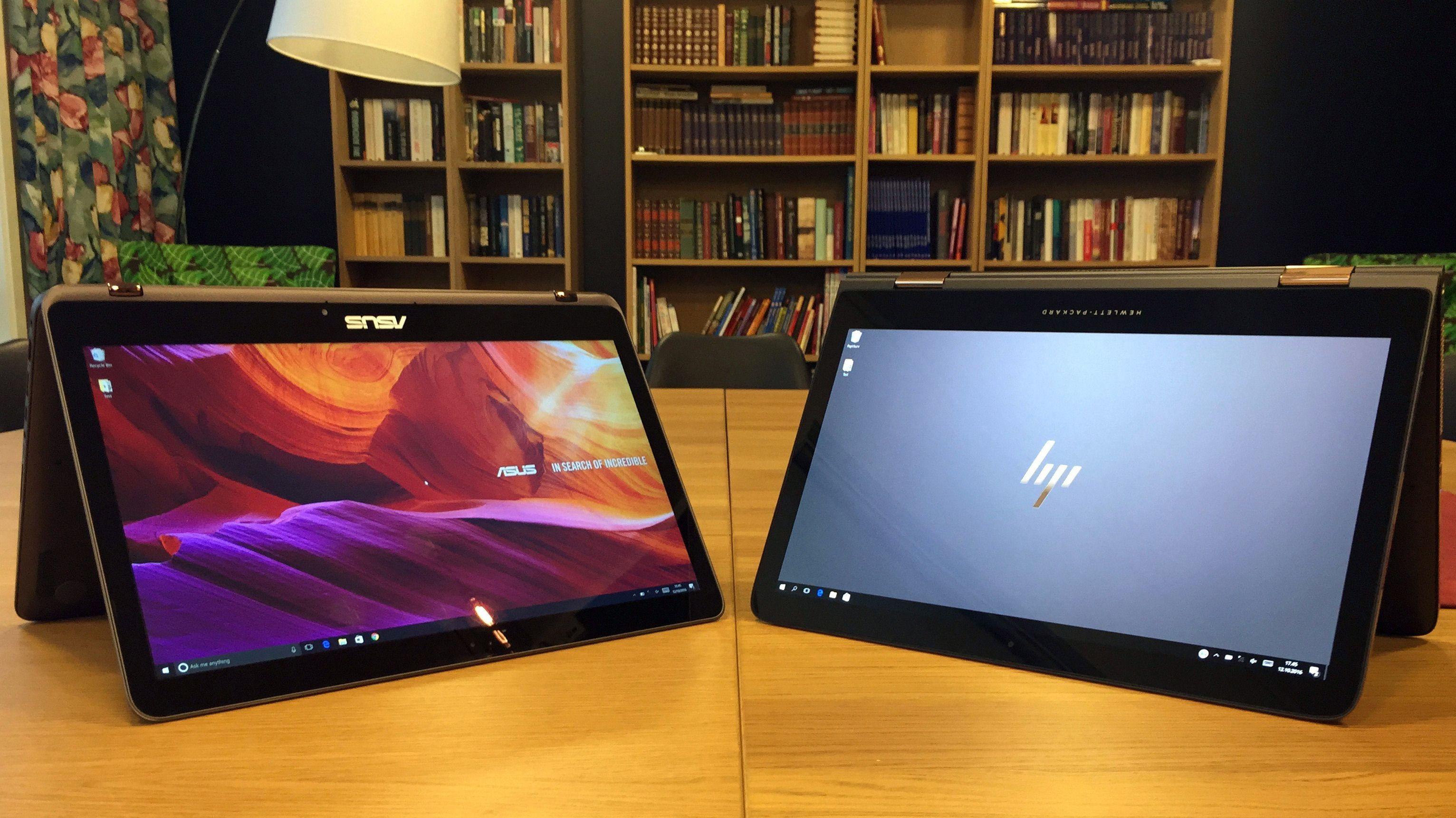 Asus ZenBook UX360 Flip møter HP Spectre x360