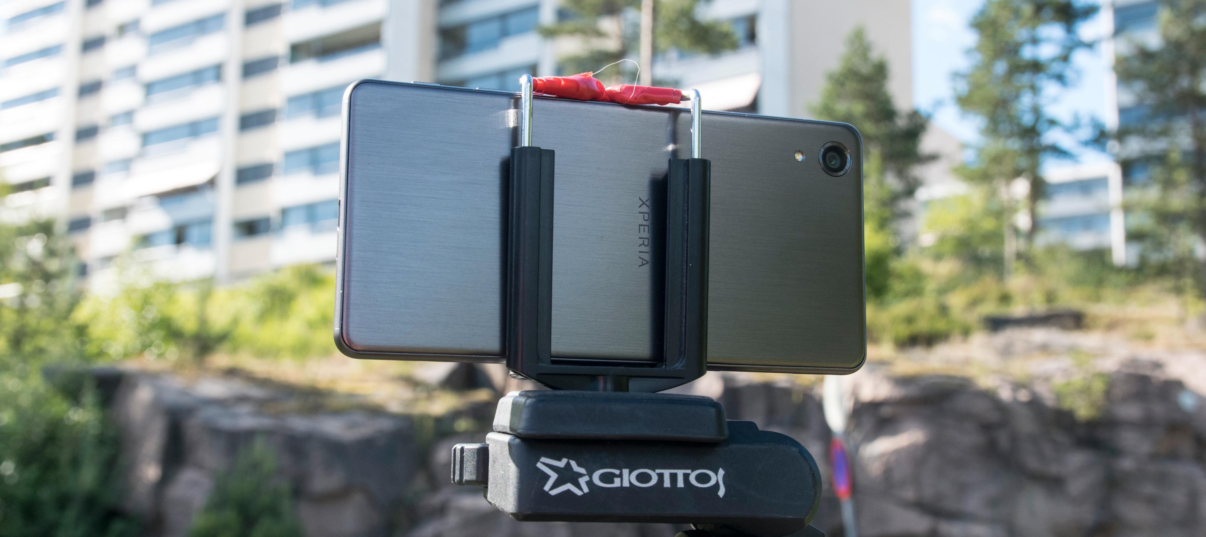 Vi tok med oss Xperia X Performance ut i stativ for å ta noen bilder.
