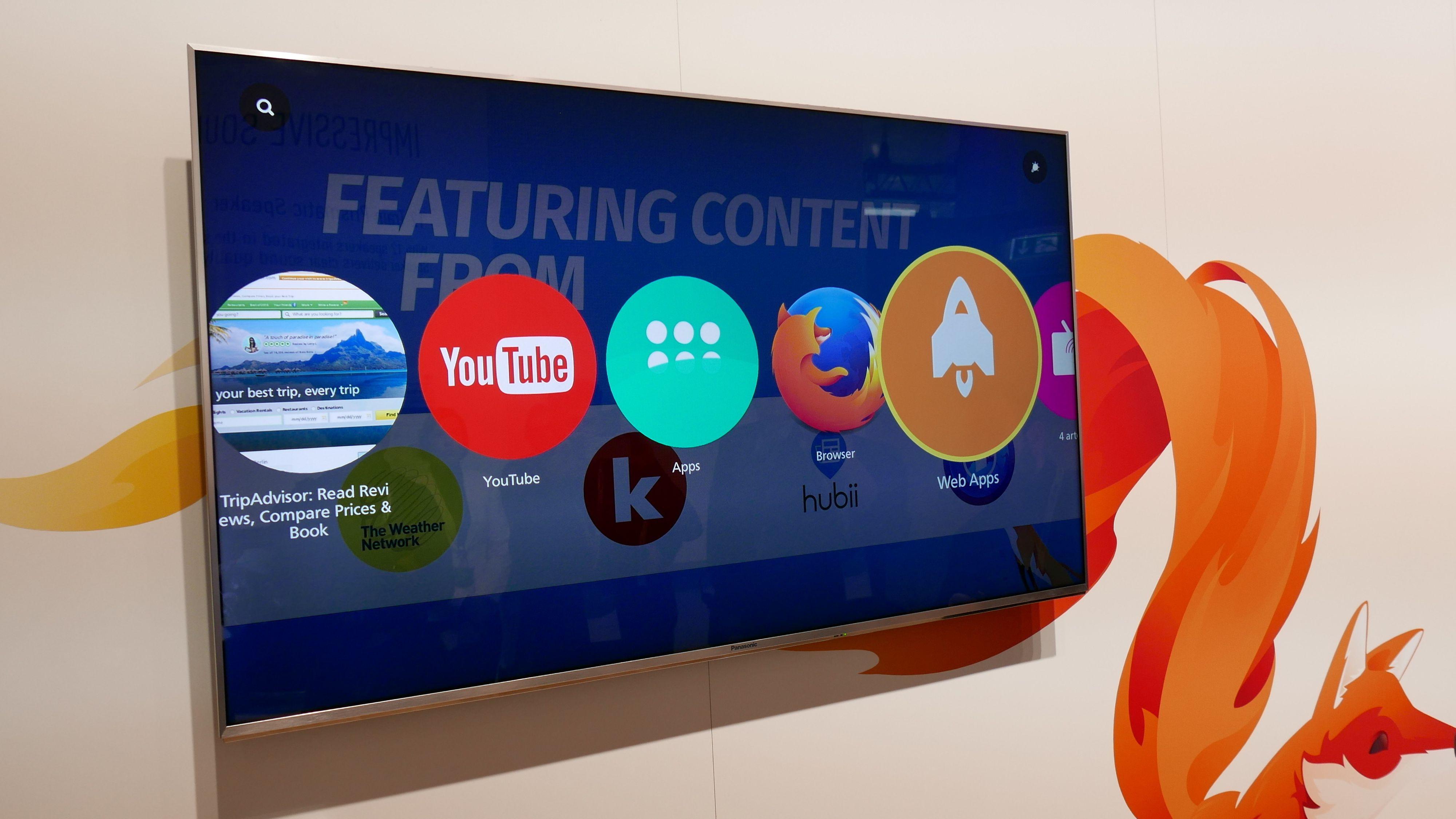 Panasonic fortsetter med Firefox OS også i år.