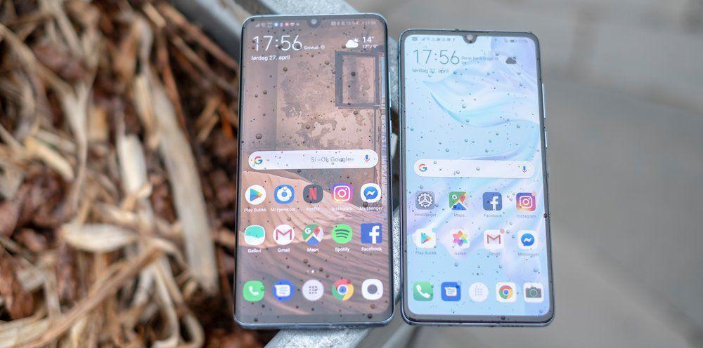 P30 Pro og P30 får Android Q.
