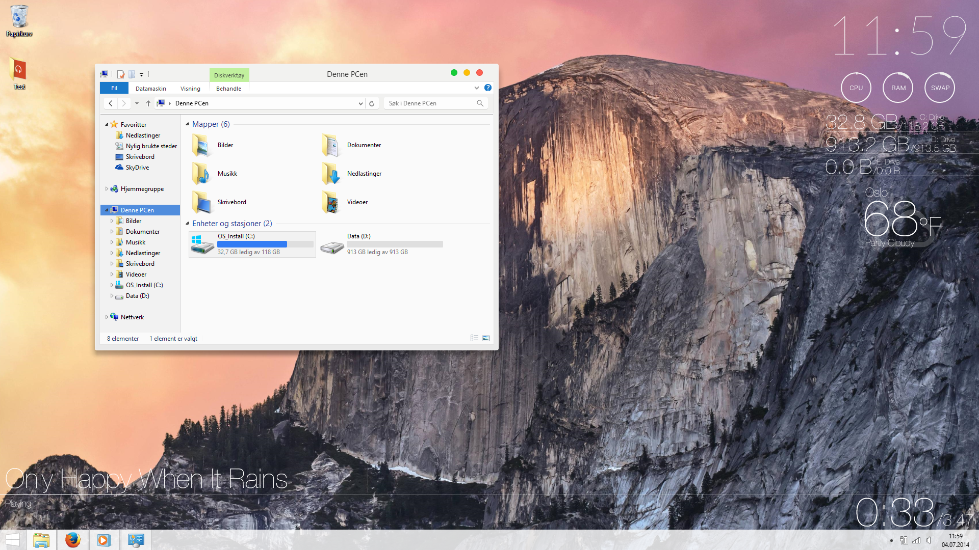 Med dette trikset ser Windows-maskina ut som en Mac