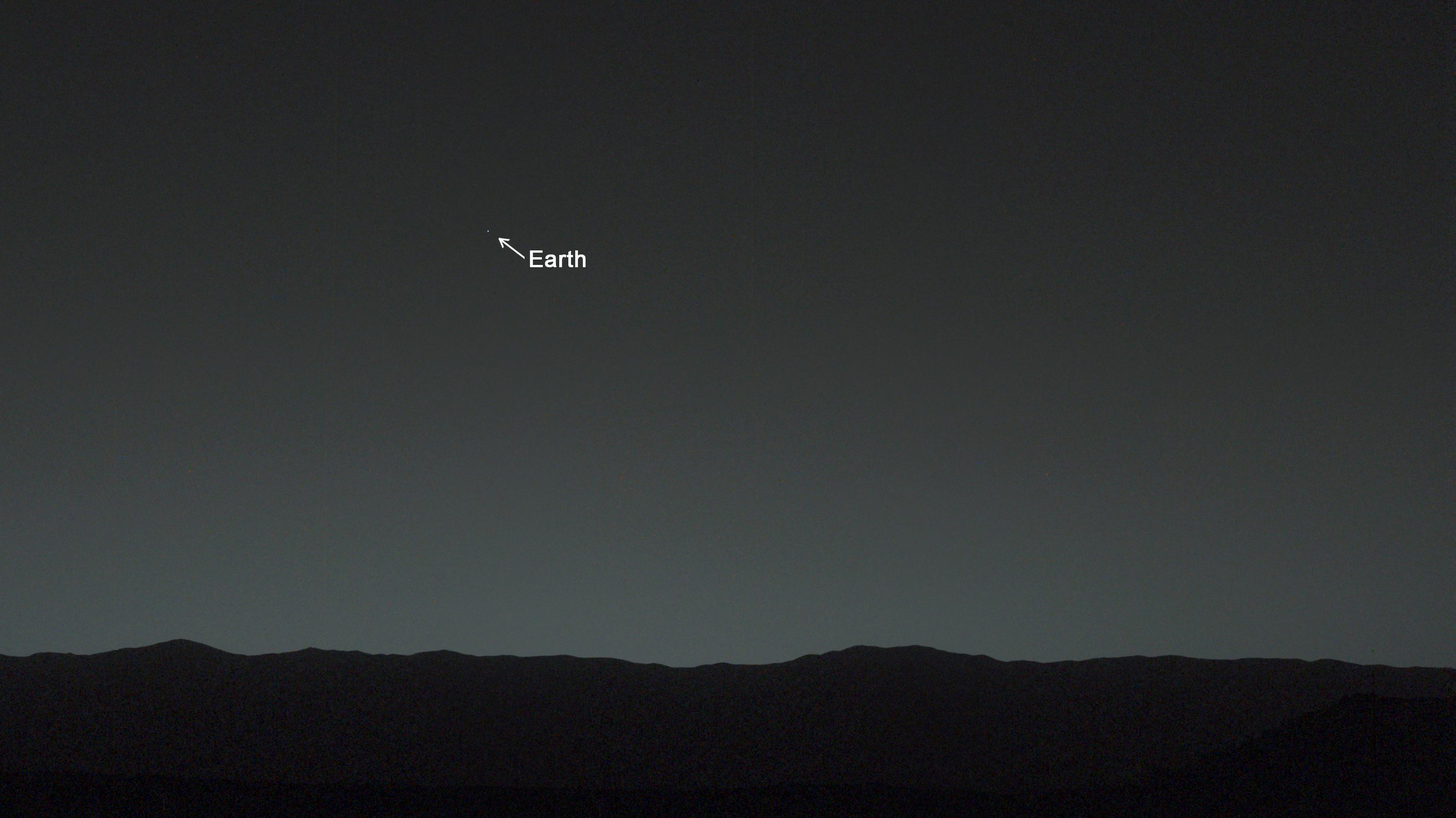 Dette er Jorden fotografert 160 millioner kilometer unna