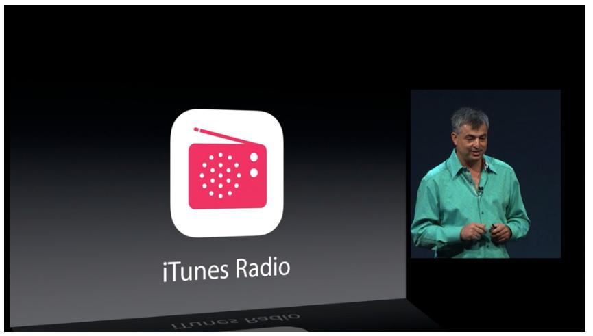 iTunes Radio var visst ikke bare et rykte.