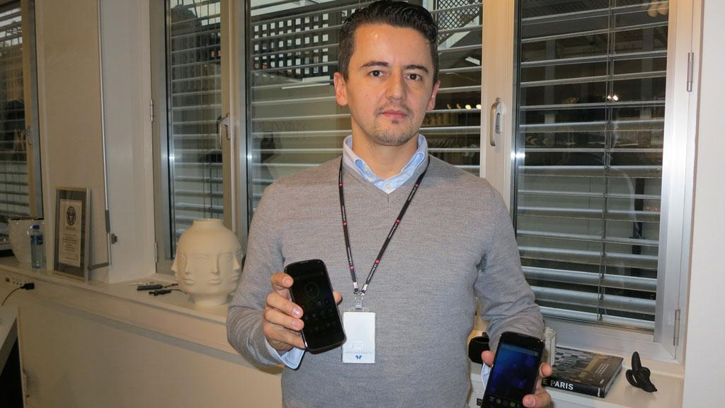 Rizah Konjic er produkspesialist i LG Norge.Foto: Espen Irwing Swang, Amobil.no