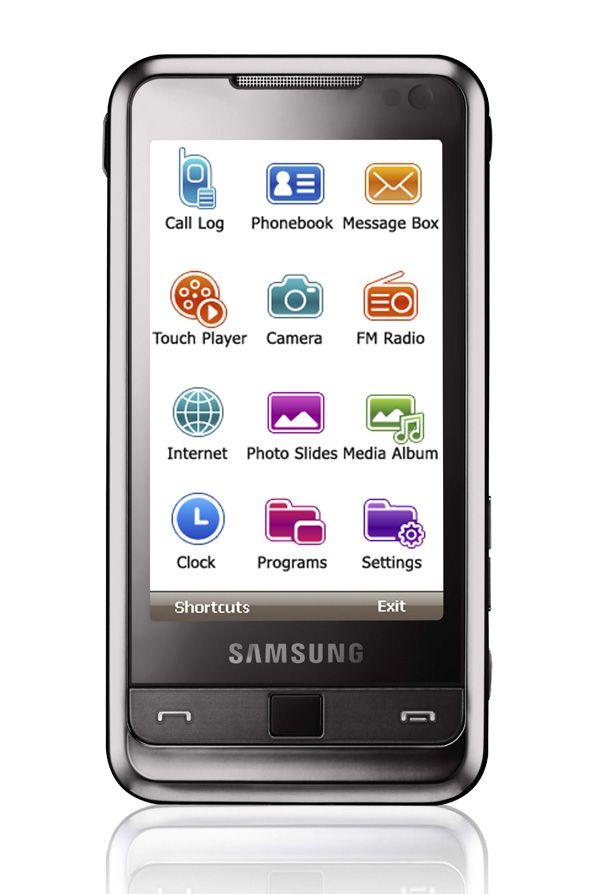 Nå har også Samsung for fullt begynt å forandre på brukergrensesnittet i Windows Mobile.