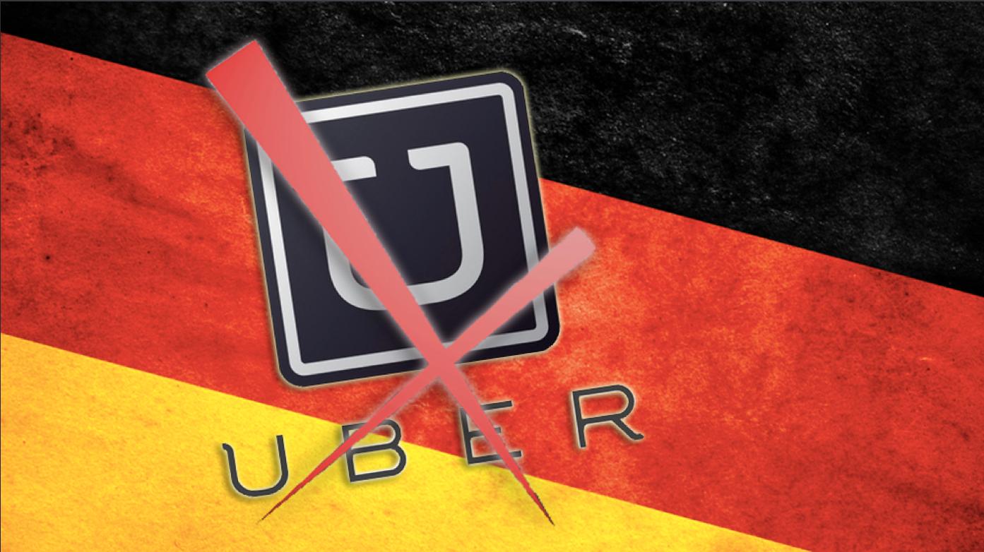 Tyskland forbyr taxi-tjenesten Uber