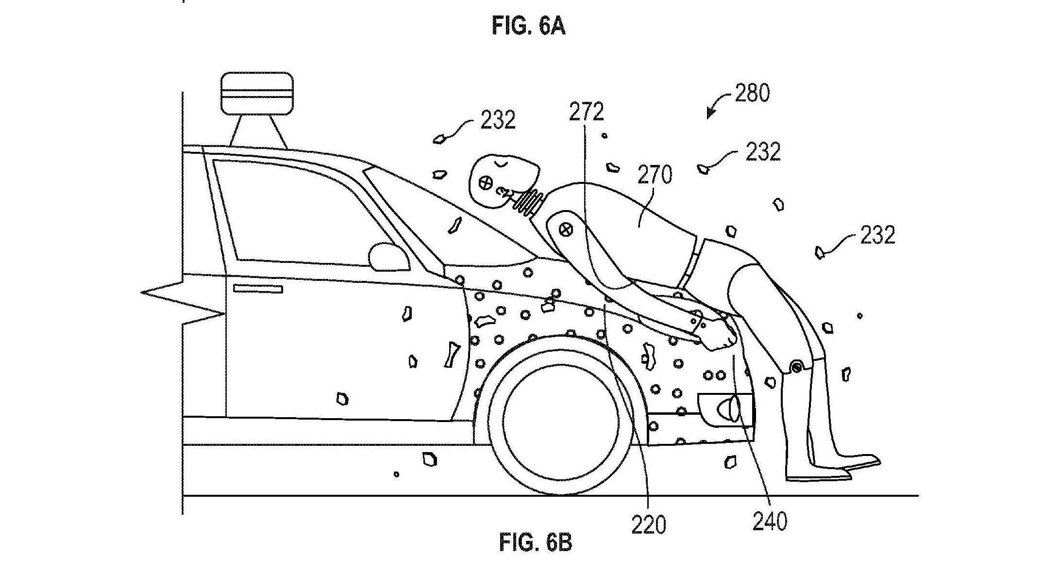 Google vil fange fotgjengere med «fluepapir» på sine selvkjørende biler