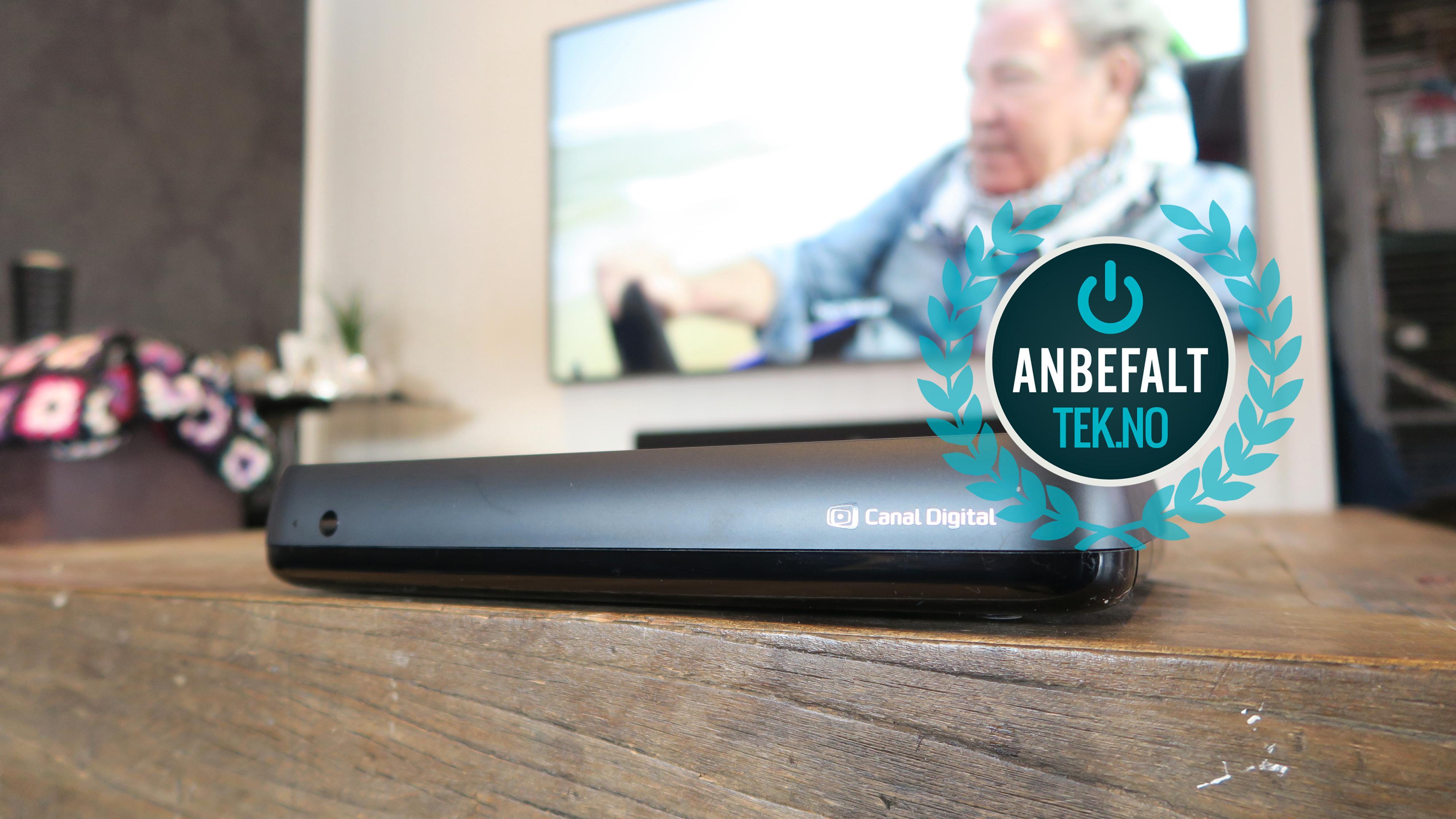 Vi har ingen problemer med å gi den nye Android-dekoderen fra Canal Digital et Anbefalt-stempel.
