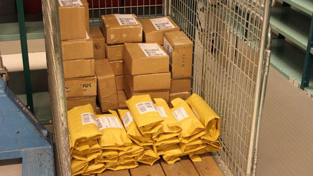 Her er noen av mobilene som har vært innom Mcare.Foto: Espen Irwing Swang, Amobil.no