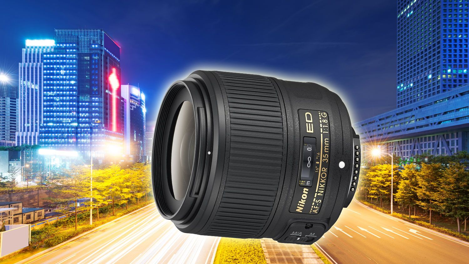 Objektiv for gatefoto fra Nikon