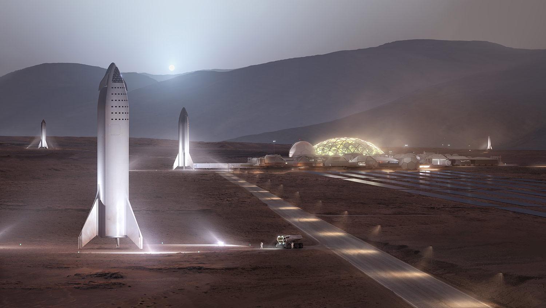 Musk: – Trenger 1000 Starship-raketter for Mars-koloni