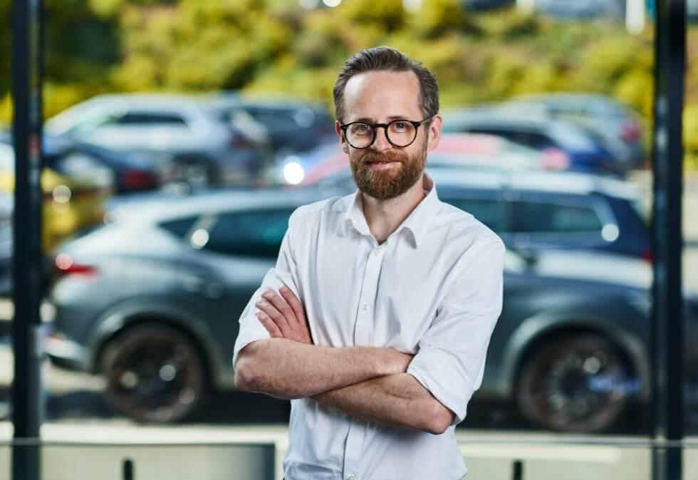 Kommunikasjonsdirektør Øyvind Rognlien Skovli