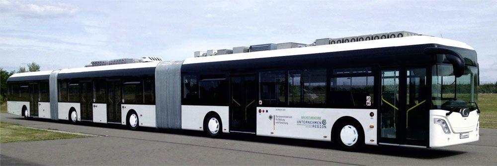 Det kan bli problematisk å kjøre denne i rushtrafikken.Foto: Fraunhofer IVI