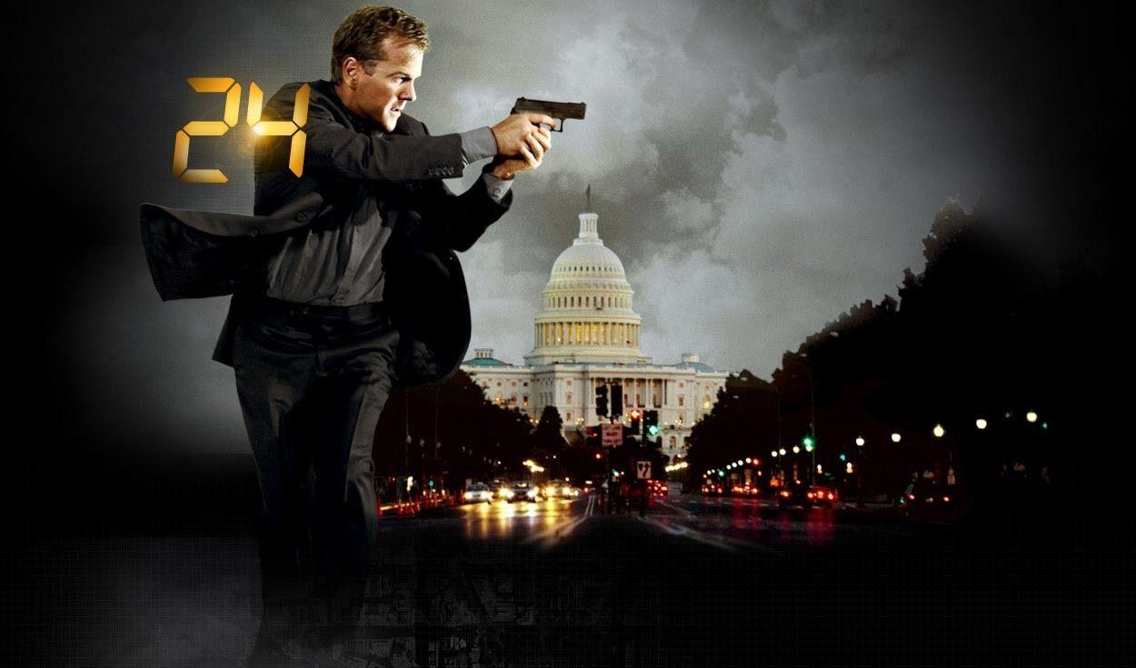 Jack Bauer har reddet verden mange ganger, 24 timer av gangen. Og blitt mye snakket om på grunn av det. Foto: FOX