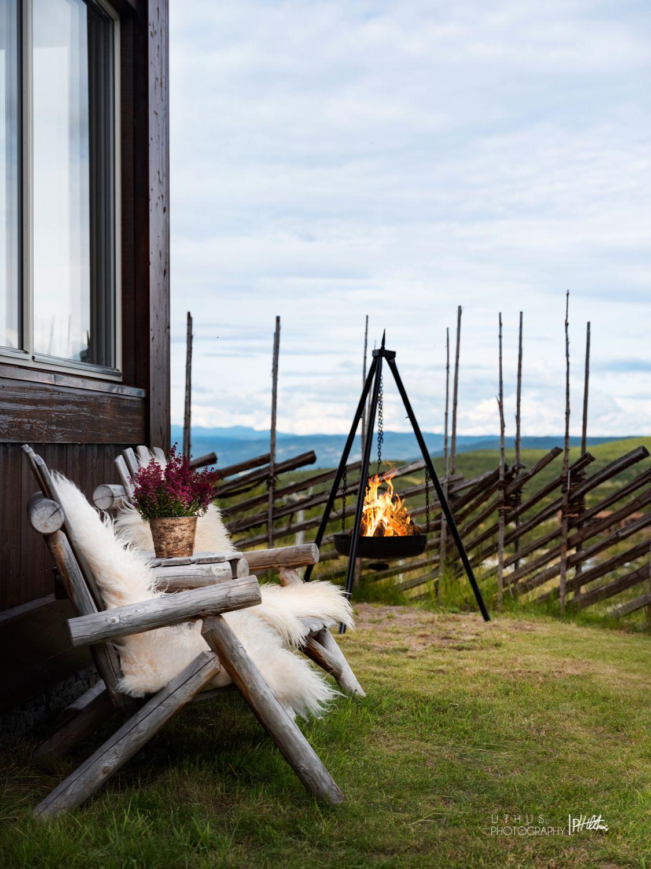 ETTERTRAKTET: I sommer er det ekstra mange som har ønsket seg en slik koselig uteplass på Geilo.