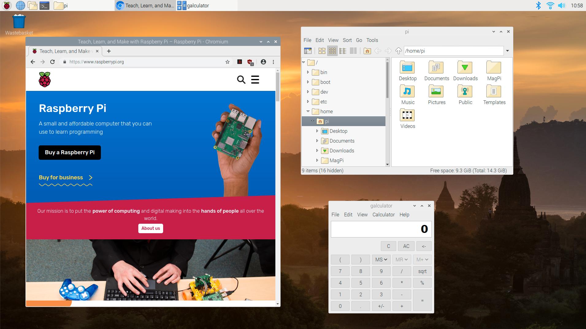 Ny versjon av operativsystemet Raspbian.