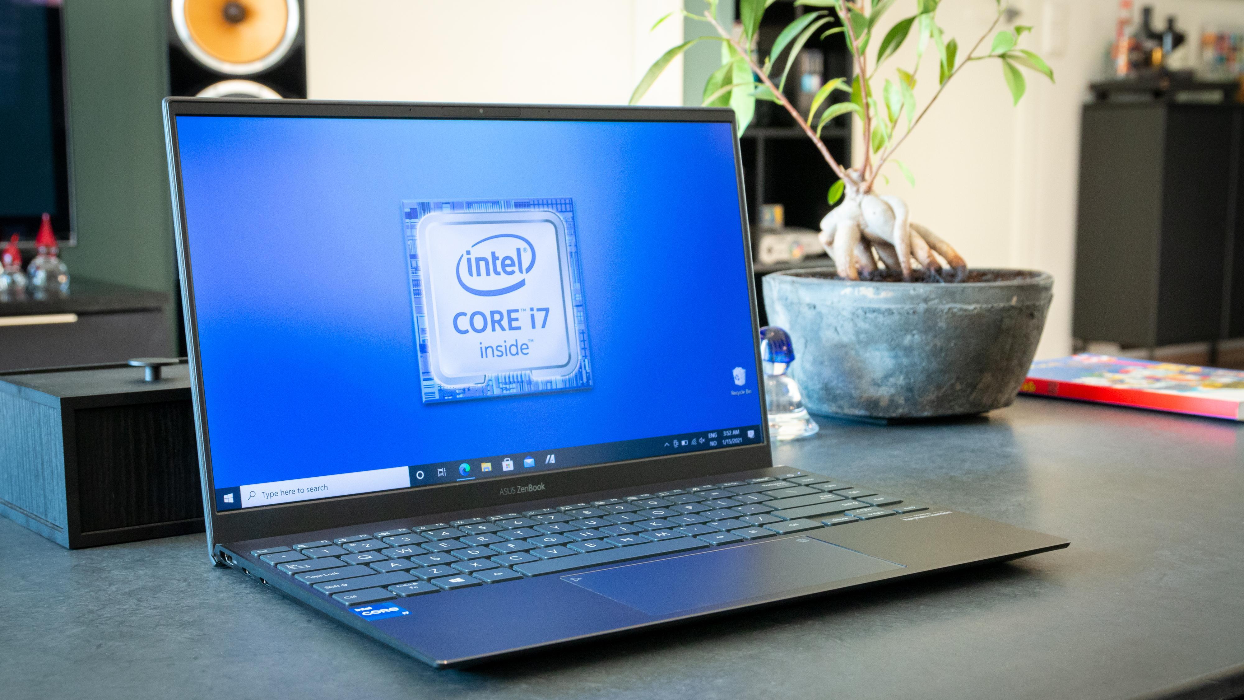 Asus ZenBook 14 UX425EA med Intel-prosessor.