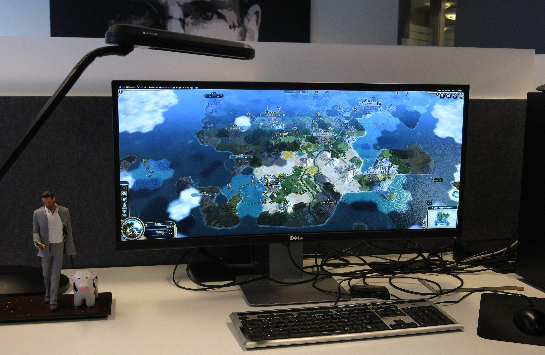 Med god maskinvare fungerer da flere spill fint med 3440 x 1440 piksler også.