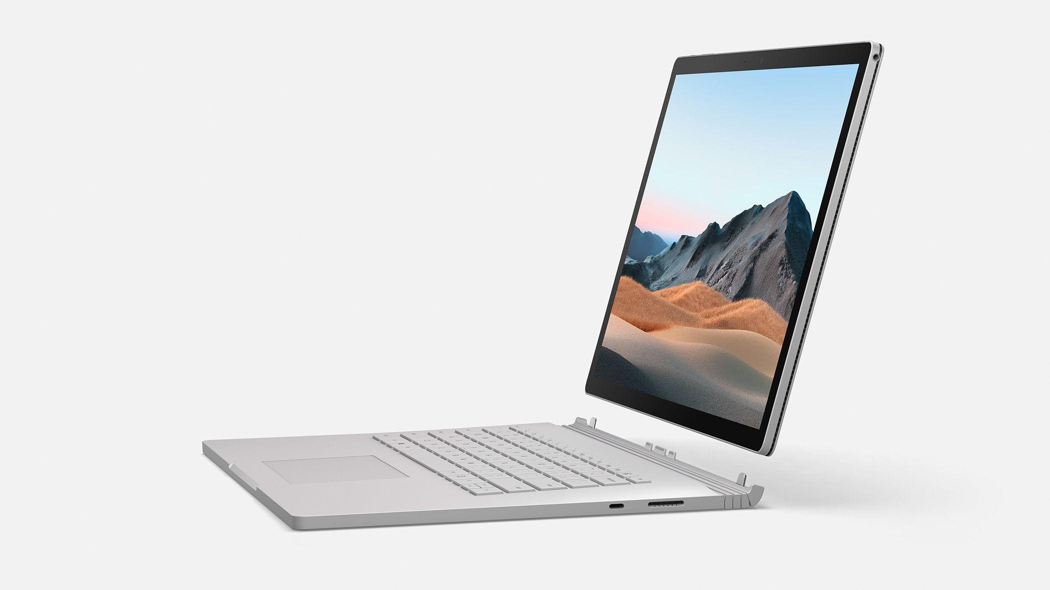 Surface Book kommer i en ny versjon - i 13,5- og 15-tommersvarianter.